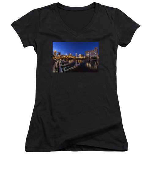 River Nights Women's V-Neck (Athletic Fit)