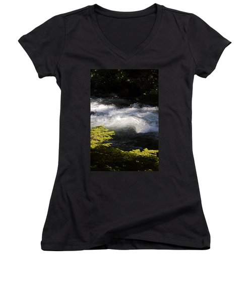 River's Ebb Women's V-Neck T-Shirt