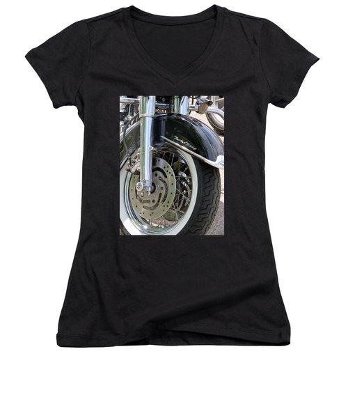 Road King Women's V-Neck T-Shirt