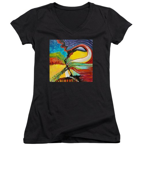 Road To Glory Women's V-Neck