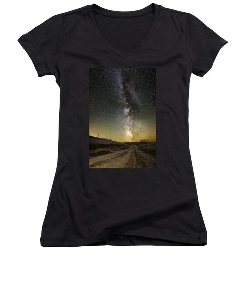 Road To Nowhere - Great Rift Women's V-Neck