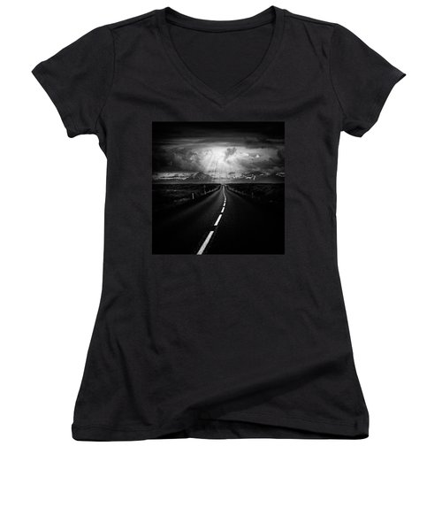Road Trip Women's V-Neck T-Shirt