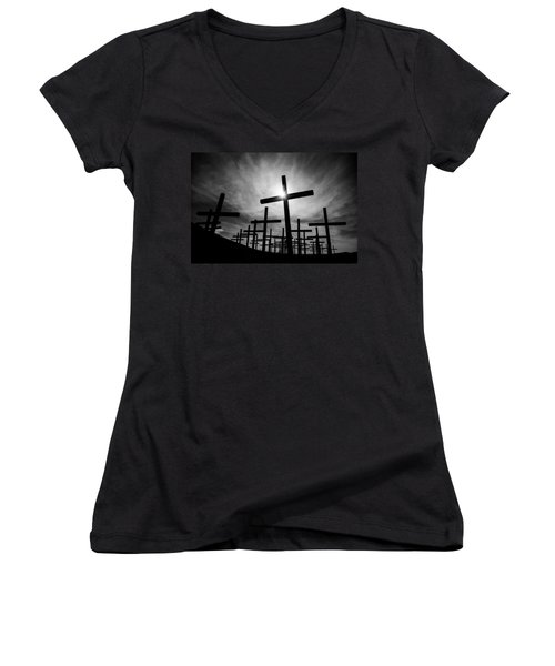 Roadside Memorial Women's V-Neck