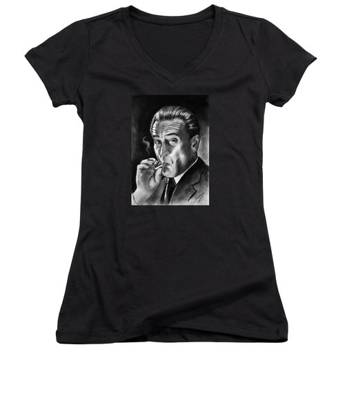 Robert De Niro Women's V-Neck (Athletic Fit)