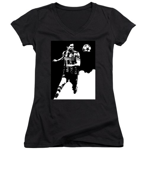 Robert Lewandowski Women's V-Neck T-Shirt