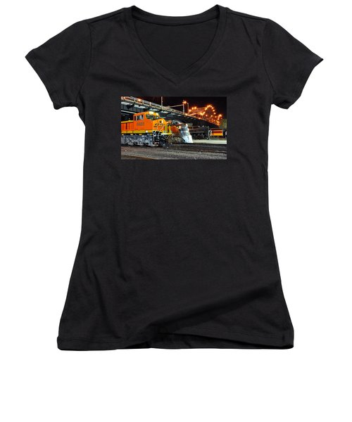 Rock Island Train Festival 2011 Women's V-Neck