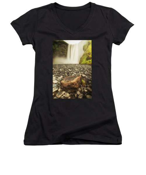 Rock N' Fall Women's V-Neck (Athletic Fit)