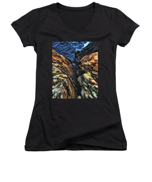 Rocky Shore Women's V-Neck