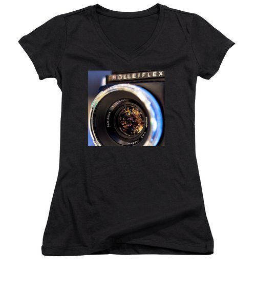 Rollei Champagne Women's V-Neck