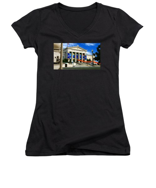 Roman Architecture Women's V-Neck