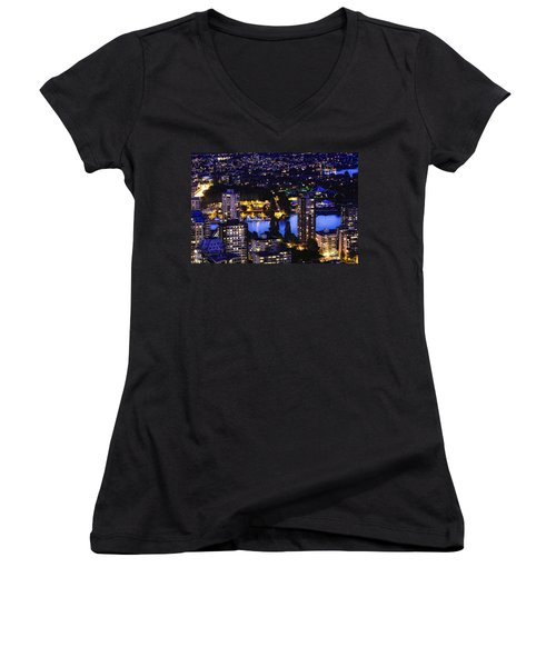 Romantic Kits Beach - Mdxxxviii Women's V-Neck T-Shirt