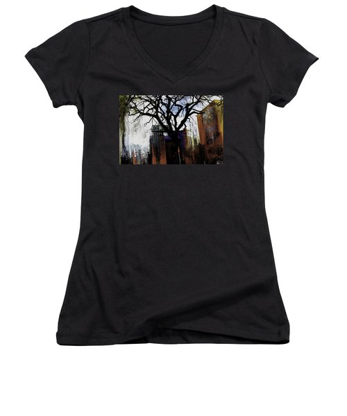 Rooted In The Unstable Women's V-Neck T-Shirt