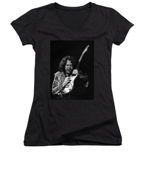 Rory Gallagher 1 Women's V-Neck T-Shirt