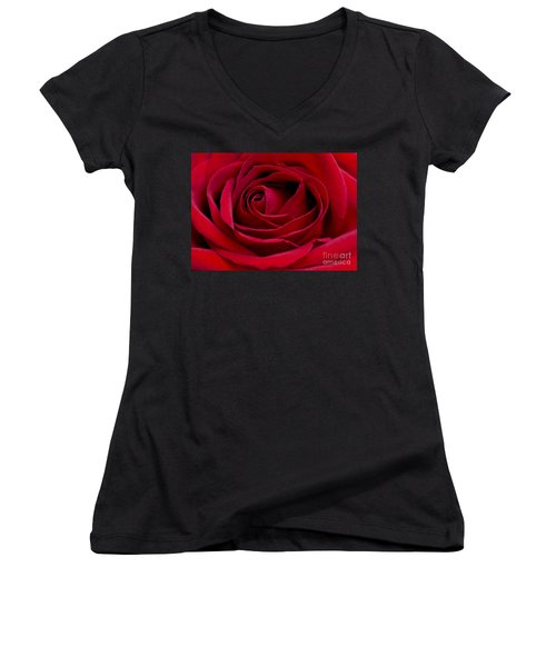 Eye Of The Rose Women's V-Neck T-Shirt