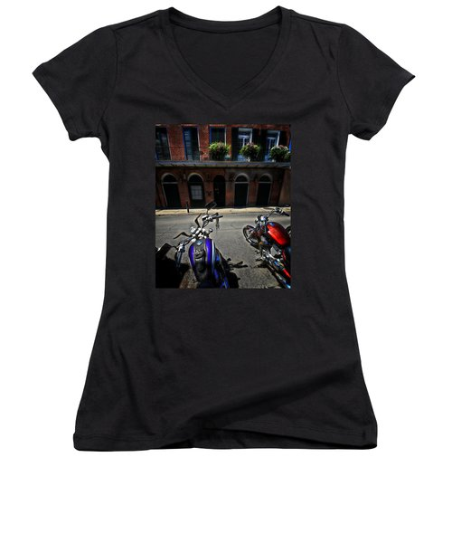 Round N Rounds Women's V-Neck (Athletic Fit)