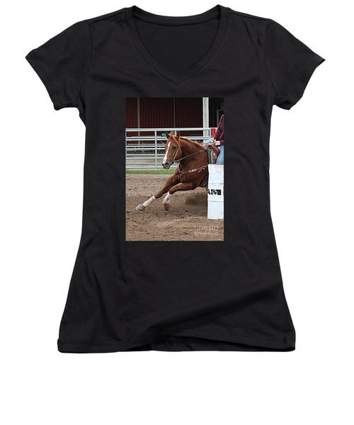 Rounding Third Women's V-Neck (Athletic Fit)