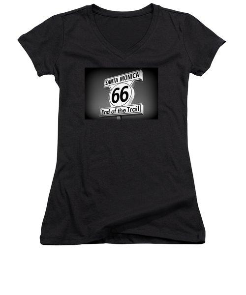 Route 66 Women's V-Neck (Athletic Fit)
