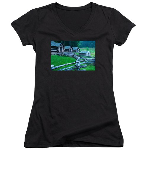 Rustic Life Women's V-Neck (Athletic Fit)