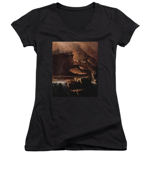 Sadak And The Waters Of Oblivion  Women's V-Neck