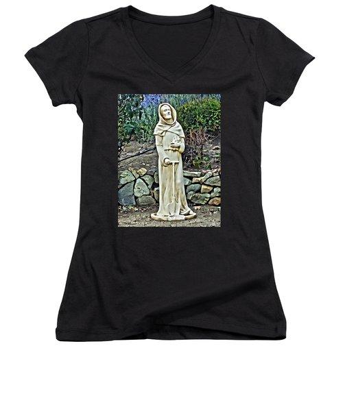 Saint Fiacre Women's V-Neck