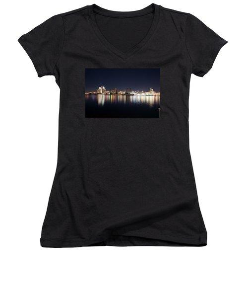San Diego Ca Women's V-Neck T-Shirt