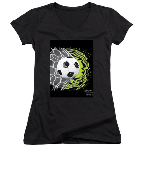 Score Women's V-Neck (Athletic Fit)