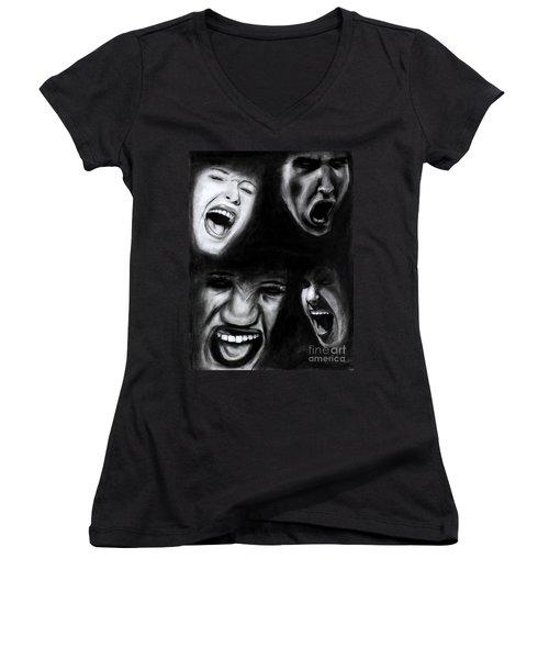 Scream Women's V-Neck
