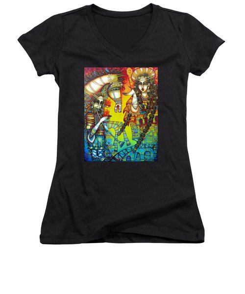 Serenade Women's V-Neck T-Shirt (Junior Cut)
