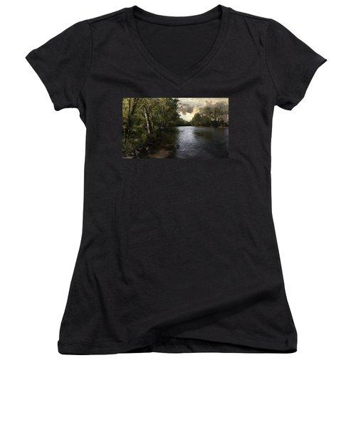 Serenity Women's V-Neck T-Shirt (Junior Cut)