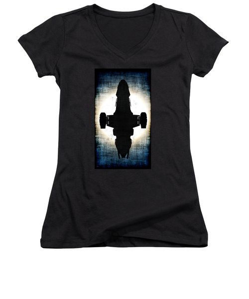 Serenity... Women's V-Neck T-Shirt (Junior Cut) by Tim Fillingim