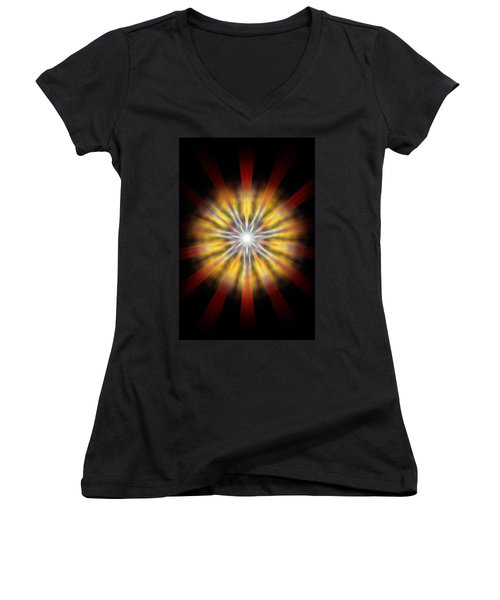 Seven Sistars Of Light Women's V-Neck (Athletic Fit)