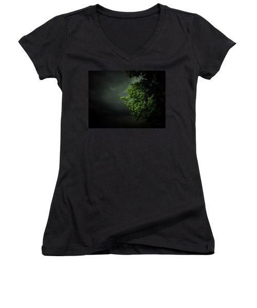 Severe Weather Women's V-Neck T-Shirt
