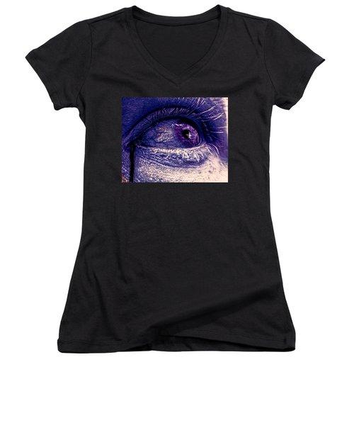 Shades Of Sympathy Women's V-Neck T-Shirt
