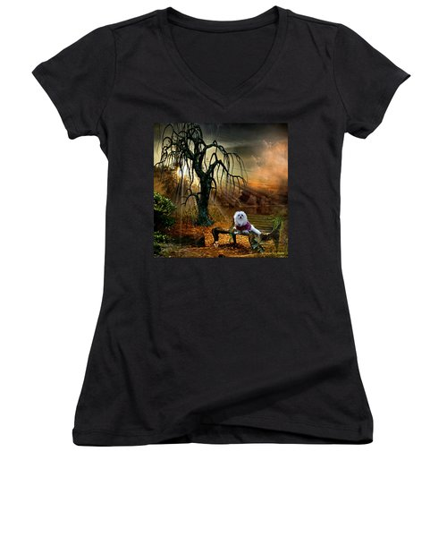 Shades Of The Fall  Women's V-Neck