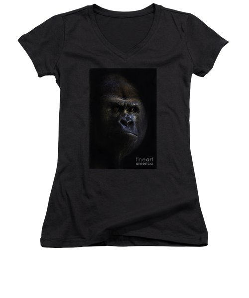 Shadow Series Five Women's V-Neck (Athletic Fit)