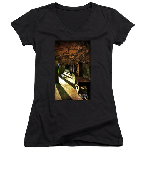 Shadows And Arches I Women's V-Neck