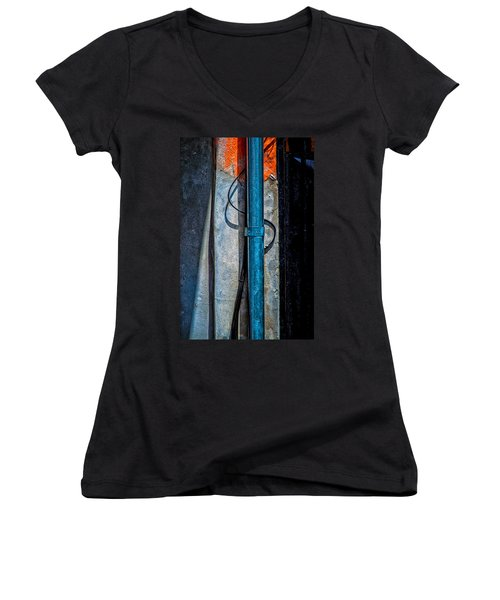 Shapes And Colors Women's V-Neck T-Shirt