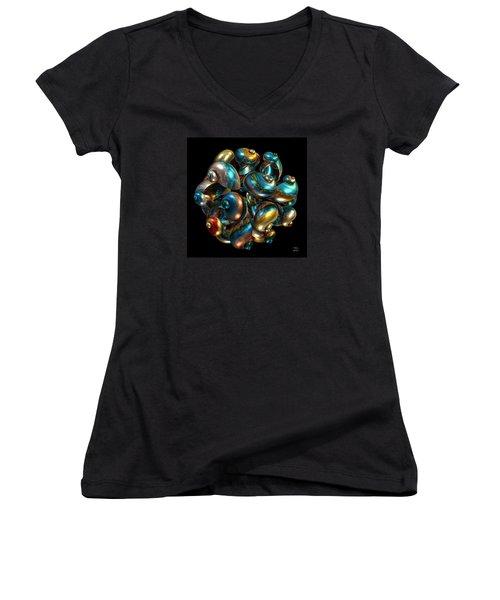 Shell Congregation Women's V-Neck T-Shirt
