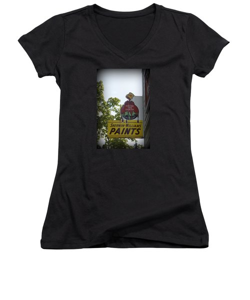 Sherwin Williams Women's V-Neck T-Shirt