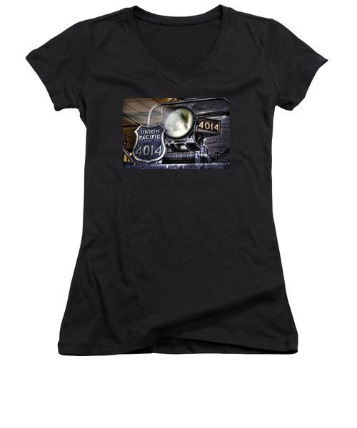 Women's V-Neck T-Shirt (Junior Cut) featuring the photograph Shine Bright by Ken Smith