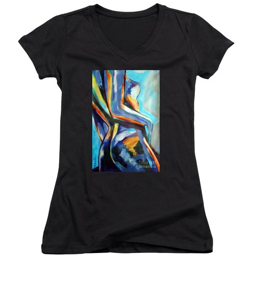 Shine Women's V-Neck