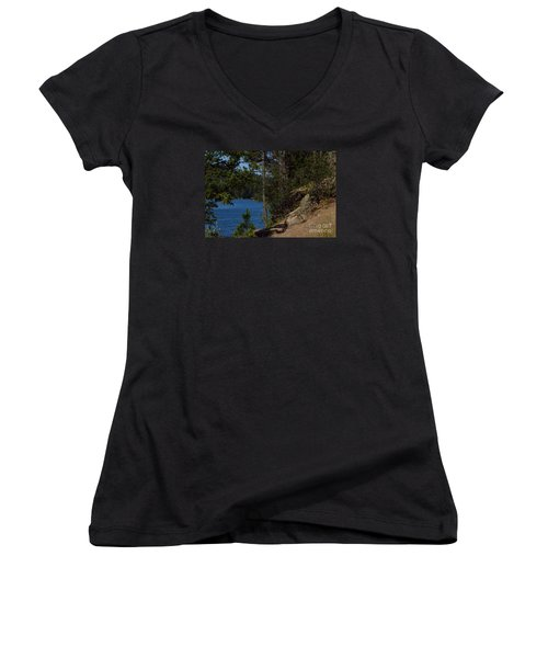 Shine On Women's V-Neck T-Shirt