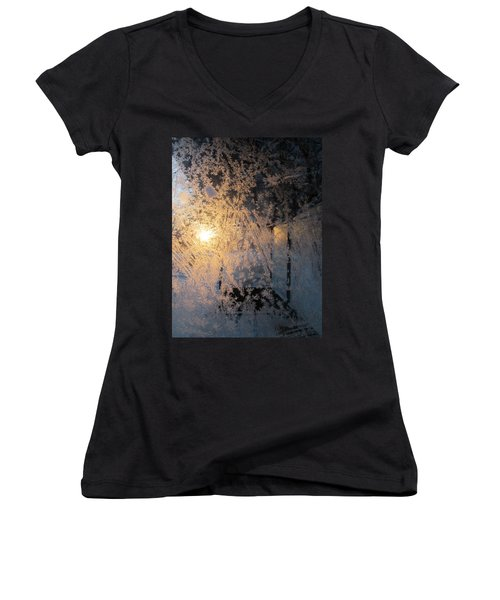Shines Through And Illuminates The Day Women's V-Neck (Athletic Fit)