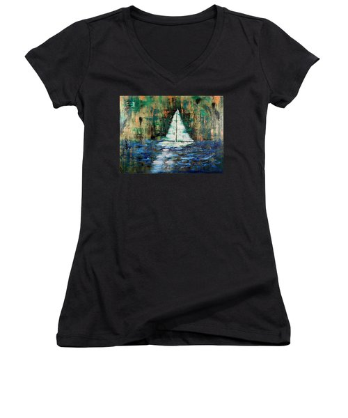 Shipwrecked Women's V-Neck