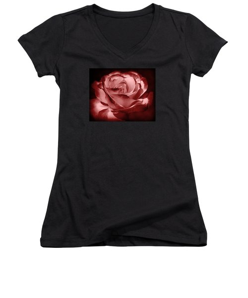 Silk  Women's V-Neck T-Shirt