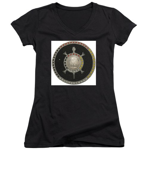 Silver Eagle Women's V-Neck