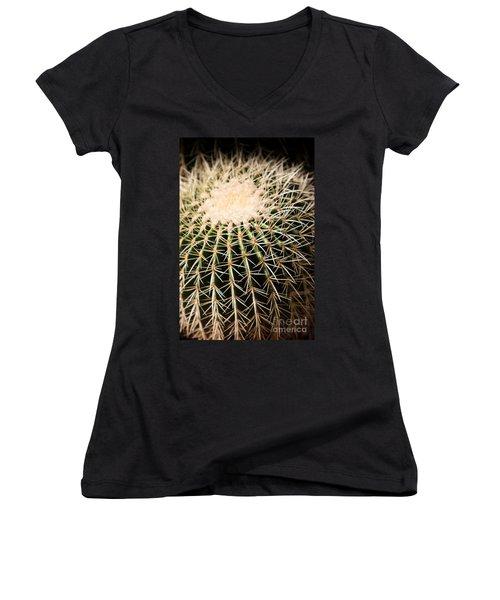 Single Cactus Ball Women's V-Neck