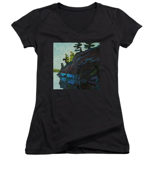 Singleton South Shore Women's V-Neck T-Shirt (Junior Cut)