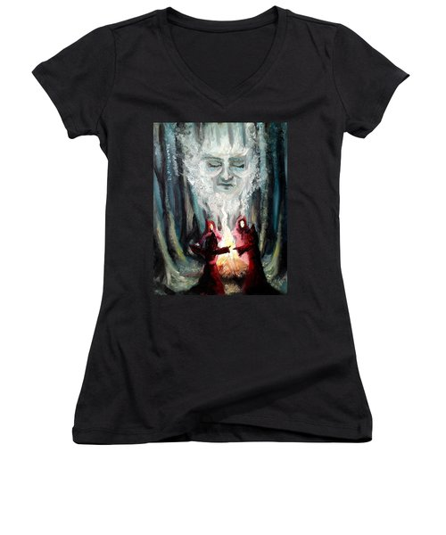 Sisters Of The Night Women's V-Neck T-Shirt