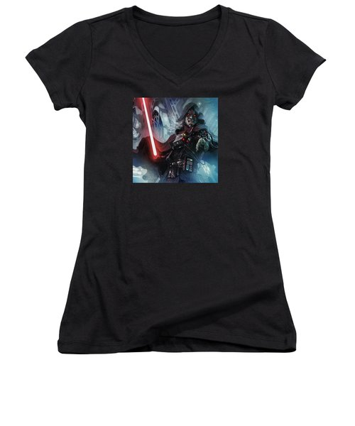 Sith Cultist Women's V-Neck